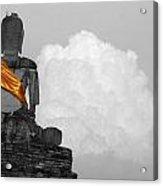 Buddha Contemplation Acrylic Print
