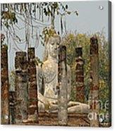 Buddha In Thailand Acrylic Print