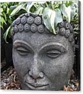 Buddha On A Hot Summer Island Day Acrylic Print