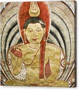 Buddha Painting In Sri Lanka Acrylic Print