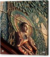Buddha Relief Acrylic Print