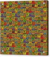 Buddhas Hard Mix Acrylic Print