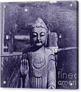 Buddhas Words Acrylic Print
