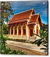 Buddhist Temple Acrylic Print