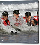 Buds Students Participate In A Surf Acrylic Print