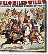 Buffalo Bill: Poster, 1899 Acrylic Print