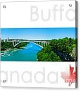 Buffalo Canada Acrylic Print