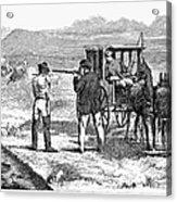 Buffalo Hunting, 1874 Acrylic Print