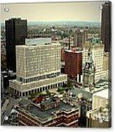 Buffalo New York Aerial View Acrylic Print