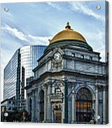 Buffalo Savings Bank 11415 Acrylic Print