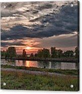 Buffalo Sunset 14390 Acrylic Print