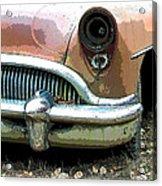 Buick Acrylic Print by Steve McKinzie