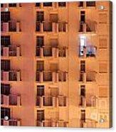 Building Facade Acrylic Print