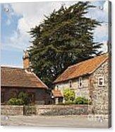 Building Houses Traditional Weybourne Norfolk Acrylic Print