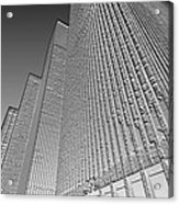Building In Monochrome Acrylic Print