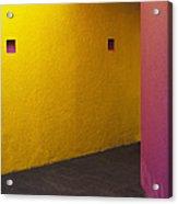 Building Interior Acrylic Print