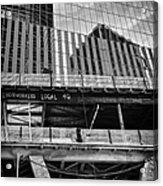Building The American Dream Acrylic Print by John Farnan
