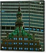 Building Upon Building Acrylic Print