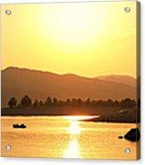 Bulgarian Sunset Acrylic Print