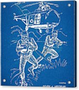 Bulletproof Patent Artwork 1968 Figure 15 Acrylic Print