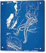 Bulletproof Patent Artwork 1968 Figures 16 To 17 Acrylic Print