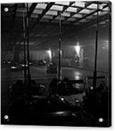 Bumper Cars In Fog Acrylic Print