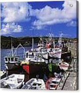 Bunbeg, Donegal, Ireland Harbour Of A Acrylic Print