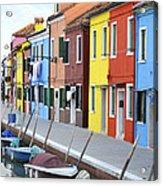 Burano Italy 2 Acrylic Print