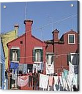 Burano. Venice Acrylic Print