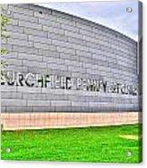 Burchfield Penny Art Center Acrylic Print