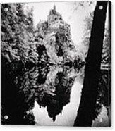 Burg Kriebstein Acrylic Print
