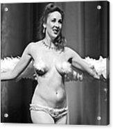 Burlesque Charms Acrylic Print