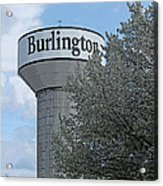 Burlington Acrylic Print