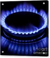 Burning Gas Acrylic Print by Fabrizio Troiani