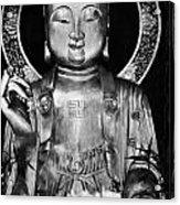 Burning Incense In A Buddhist Temple Sha Tin Hong Kong China Acrylic Print