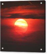 Burning Twilight Acrylic Print