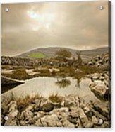 Burren Lake Acrylic Print