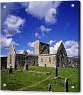 Burrishoole Friary, Co Mayo, Ireland Acrylic Print by The Irish Image Collection