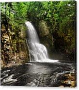 Bushkill Waterfalls Acrylic Print