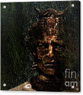 Bushman Acrylic Print by Jan Willem Van Swigchem