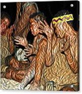 Bushmen Acrylic Print