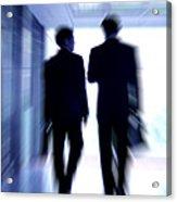 Businessmen Acrylic Print