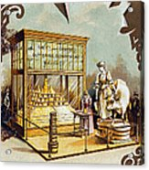 Butter Trade Card, C1880 Acrylic Print by Granger