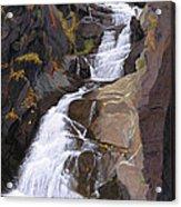 Buttermilk Falls Acrylic Print by Glen Heberling