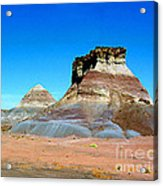 Buttes In The Painted Desert In Arizona Acrylic Print