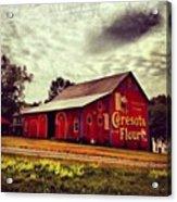 Buy Flour. #barn #pa #pennsylvania Acrylic Print