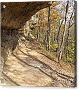 Buzzard Roost Rocky Trail Acrylic Print