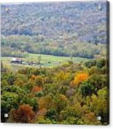 Buzzards Roost View Acrylic Print
