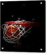 Buzzer Beater  Acrylic Print by Judge Howell