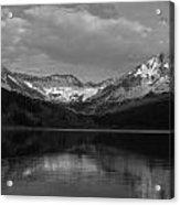 Bw Trout Lake Acrylic Print